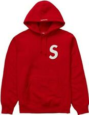 Supreme S Logo Hoodie Ss20 Red  Size Medium (new In Packaging) Ready to Ship