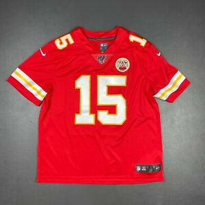 100% Authentic Chiefs Patrick Mahomes Nike Red Vapor Untouchable Limited Jersey
