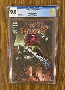 SYMBIOTE SPIDER-MAN #1  CGC 9.8 Walmart Variant Marvel 🔥 🔥 🔑