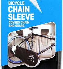 White Lightning Chain Sleeve Bicycle Drivetrain Gear Cover / Transport Protector