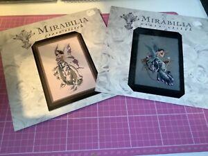 2 x Mirabilia Counted Cross Stitch charts unopened Nora Corbett