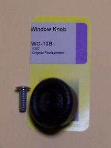 AMC BLACK WINDOW KNOB