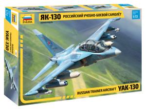 ZVEZDA 7307 Russian Trainer Aircraft YAK-130 Model Kit 1/72