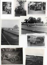20 x Black & White Photographs Motor Racing Circa 1950/60's