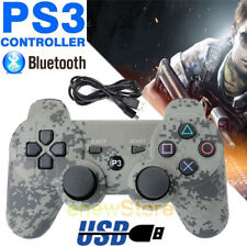 Wireless controller - Bluetooth Joystick, Gamepad for Playstation 3 w/ cable