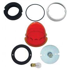1157 Cab Light Kit w/ Glass Lens - Amber Dark