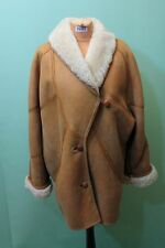 Exklusiver Lamm Fell Mantel Vintage-Jean-Jacques-Benson Gr 40 shearling Luxus