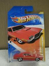 HOT WHEELS- '72 GRAN TORINO SPORT- 2011 NEW MODELS- RED- NEW - L149