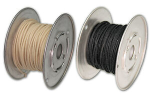 Vintage Cloth Covered Hook Up Wire For Guitars And Amplifiers - Single Core