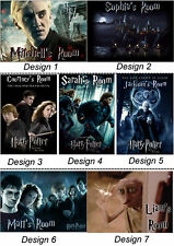 Personalised Harry Potter - Door / Wall - With Name or Msg - Gift Idea