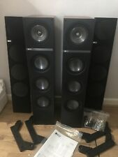KEF Q500 Uni-Q Driver Floor Standing Speakers In English Cherry - Pair Boxed
