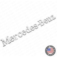 Mercedes-Benz Letter Emblem 3D Logo Nameplate Badge Decoration AMG Chrome Sport