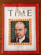 TIME Magazine January 7, 1946 – Prime Minister MacKenzie King- Vintage Ads
