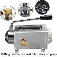 Y-8 Manual Hand Pump Oiler for Bridgeport Milling Machine (One Shot Lube)