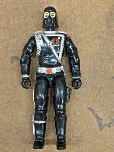 Black hooded Cobra Commander GI Joe action figure 3 3/4 Hasbro