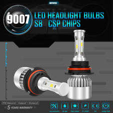2018 9007 1080W HB5 162000LM CSP 6500K White LED Headlights Kit Bulbs Hi/Low HID