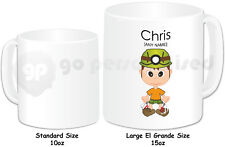 Personalised Gift Rock Climbing Large Mug Boys Rock Climber Instructor Present