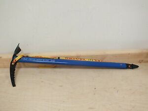Grivel Mont Blanc Ice Axe with Leash - Nepal -Blue (Mar)