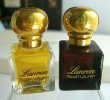 🎁lot New Vintage **PARFUM* pure perfume Lauren by Ralph Lauren mini cologne