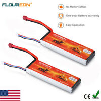 2x 2S 7.4V 4000mAh 30C LiPo Battery Deans for RC Car AirplaneHelicopter Drone