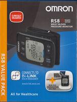OMRON RS 8 - das Top-Modell Handgelenk-Blutdruckmessgerät - neu & OVP v. med. FH