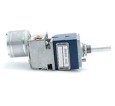1PCS ALPS RK27 100K Dual-channel Motorized Volume Potentiometer Round Shaft