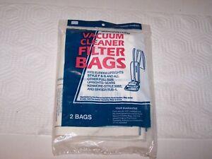 NIP sealed package 2 vacuum cleaner bags 40100501 fits some Eureka Sears Singer