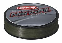Berkley Nanofil Green Lo Vis Uni-Filament  Fishing Line Spinning Line 125m&270m