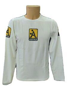 T-shirt A-style uomo colore bianco