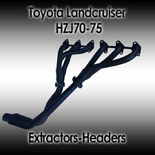 Landcruiser HZJ70 -75, 1HZ, Trayback & Troop carrier, Diesel, Extractors/Headers