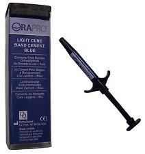 Orthodontic Band Cement Blue Intro Kit Big 5g Composite Syringe ORAPRO®