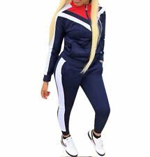 Women/Girls Long Sleeves Tracksuit 2 pieces Sports wear