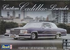 CUSTOM CADILLAC LOWRIDER REVELL 1:25 SCALE PLASTIC MODEL KIT