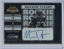 2003 Playoff Contenders Rookie Ticket Autograph #155 Marcus Trufact RC 481/739