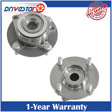 Set of 2 Front Wheel Hub & Bearing Fits 2007-2011 Nissan Versa 4 Bolt w/ABS