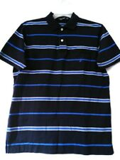 MEN'S NAUTICA T-SHIRT Size SMALL CLASSIC FIT POLO Sz. S SHORT SLEEVE  NAVY BLUE