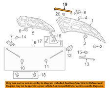 Chevrolet GM OEM 07-11 Aveo Hood-Front Molding Trim 96852700