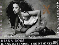 DIANA ROSS DIANA EXTENDED THE REMIXES CASSETTE ALBUM ELECTRONIC HOUSE