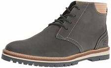 NEW MEN´S ORIGINAL LACOSTE MONTBARD CHUKKA 416 1 CAM DARK GREY LEATHER SZ US 8