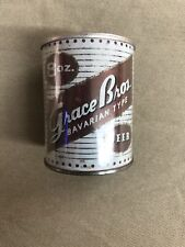 8 oz Grace Bros Bavarian Beer Can. Nice Shape. Very Rare.