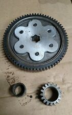 1981 HONDA PASSPORT C70 ENGINE STARTER CLUTCH PRIMARY DRIVE GEARS with BUSHING