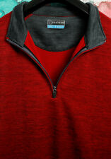PGA Tour Golf Mens 1/4 Zip Sweatshirt Vest Size XL, Extra Large