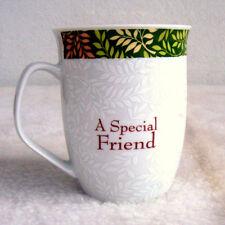 Beautiful Special Friend Cup Mug Porcelain Ceramic Coffee Tea Cocoa