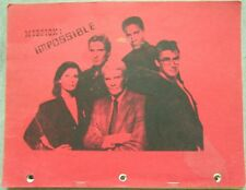 "Mission Impossible Fanzine ""Mission: Impossible IMF Dossier"" GEN"