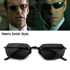 Fashion Cool The Matrix Smith Style Polarized Men Sunglasses Ultralight Rimless
