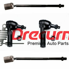 4PC Inner & Outer Tie Rod Ends SET For Ford Taurus Mercury Sable