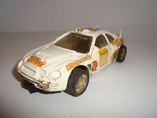 coche slot scalextric toyota celica exin rally montecarlo
