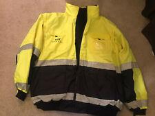 waste management Jacket SIZE 2XL Neon W/reflective