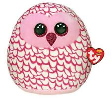 """SQUISH A BOO 14"""" PINKY OWL"""