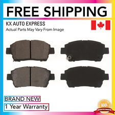 FRONT CERAMIC BRAKE PADS FOR TOYOTA ECHO 2002 2003 2004 2005 D822
